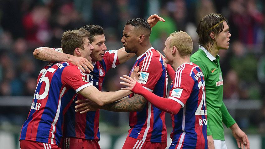 Spokojna wygrana Bayernu
