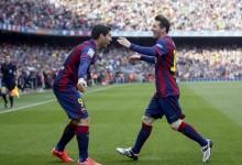 Suarez znowu chwali Messiego