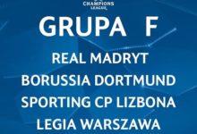 Terminarz grupy F – Champions League 16/17