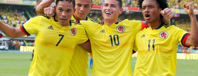 Szeroka kadra Kolumbii na Mundial