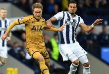 Tottenham rzutem na taśmę remisuje z WBA