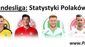 Bundesliga: Statystyki Polaków w 30. kolejce