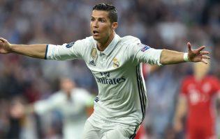 Grad goli na Bernabéu, cztery gole Ronaldo!