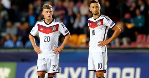 Niemcy pewnie pokonują Czechów