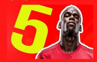 TOP 5…. Najdroższych Transferów w Historii
