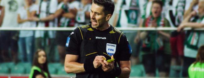 Daniel Stefański poprowadzi mecz Ligi Europy