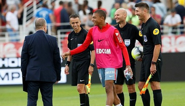 Mbappe znowu poza kadrą Monaco?