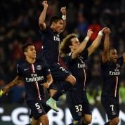 Ligue 1: Grad bramek na Parc des Princes