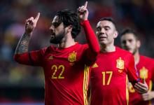 Hiszpania gromi Kostarykę 5:0 w meczu sparingowym