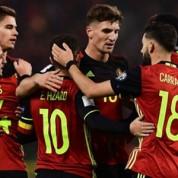Szeroka kadra Belgii na mundial