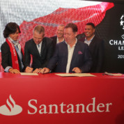 Banco Santander sponsorem Ligi Mistrzów UEFA
