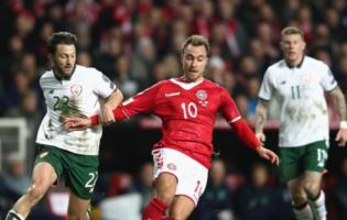 eMŚ: Eriksen wprowadza Danię na mundial