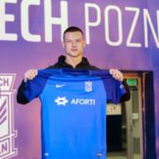 Ekstraklasa: Nowy napastnik w Lechu Poznań!