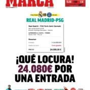 Horrendalne ceny za bilet na mecz Realu Madryt