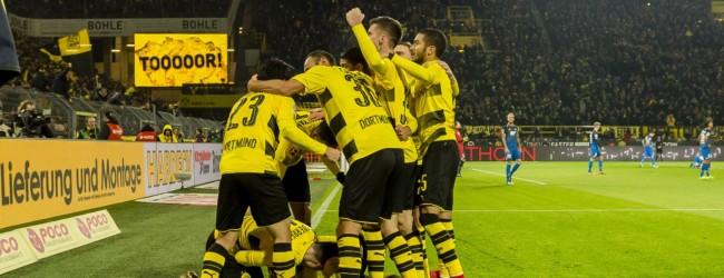 Bundesliga: Pogrom Dortmundu, przebudzenie Wieśniaków, wyniki pozostałych spotkań