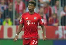 David Alaba wrócił do treningów
