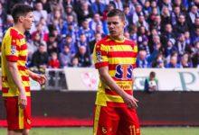 Napastnik Jagiellonii Białystok zdyskwalifikowany na cztery mecze