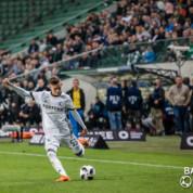 Legia Warszawa wiceliderem po zwycięstwie nad Śląskiem