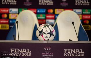 Konferencja prasowa i treningi przed finałem Ligi Mistrzyń 2018
