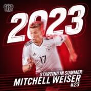 Mitchell Weiser od nowego sezonu w Bayerze Leverkusen