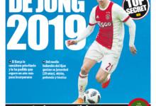 """Mundo Deportivo"": De Jong w Barcelonie od 2019 roku"