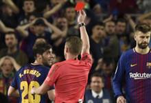 Sergi Roberto zawieszony przez zachowanie podczas El Clasico