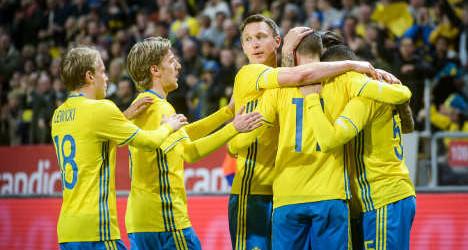 Kadra reprezentacji Szwecji na mundial