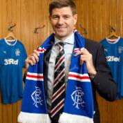 Steven Gerrard trenerem Rangers
