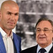 """Florentino Perez o odejściu Zinedine'a Zidane'a. """"Byłem w szoku"""""""