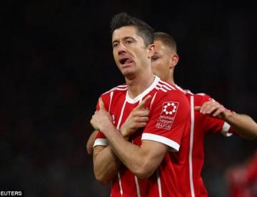 DFB Pokal: Bayern wymęczył awans. Decydujący gol Lewandowskiego