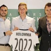Mateusz Hołownia z nowym kontraktem w Legii Warszawa