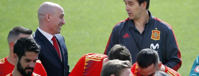 Julen Lopetegui zwolniony z reprezentacji Hiszpanii
