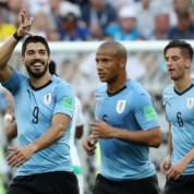 Urugwaj pokonał Arabię i awansował do 1/8 finału Mistrzostw Świata