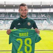 Oficjalnie: Broź piłkarzem Śląska Wrocław