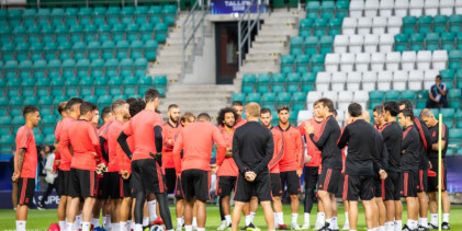 Official training session of Real Madrid [PHOTOGALLERY]