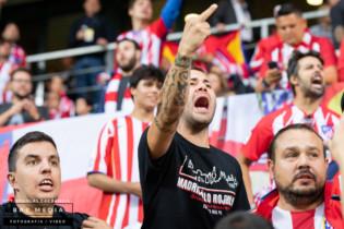 Kibice Atletico Madryt prowokują