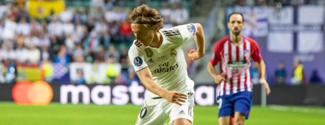 Luka Modrić z nagrodą FIFA The Best