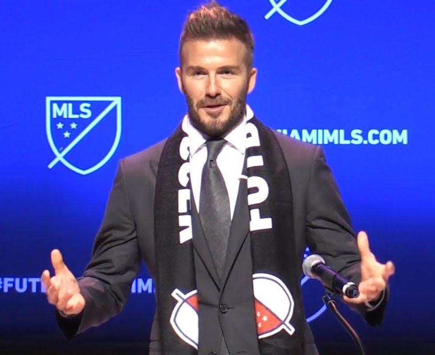 David Beckham przedstawił nazwę swojego klubu