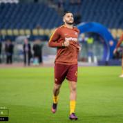 Wymiana zawodników na linii Napoli - Roma