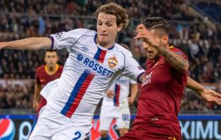 Liga Mistrzów: Czerwone CSKA uległo Romie