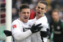 Jović bohaterem Eintrachtu