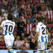 Real Sociedad wygrywa w Derbach Kraju Basków