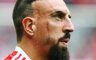 Franck Ribery przeprosił dziennikarza