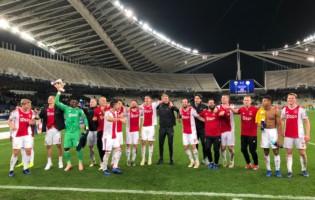 Liga Mistrzów: Ajax z awansem do 1/8 finału
