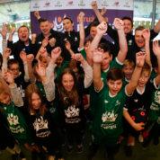 Dzieci z całej Polski trenują z gwiazdami