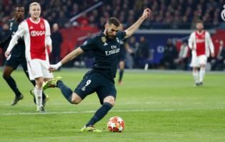 Szczęśliwe zwycięstwo Realu po spektaklu w Amsterdamie