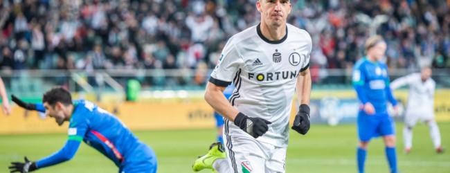 Krok w kierunku formy, Legia inkasuje trzy punkty