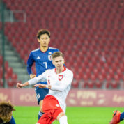 Polska U-20 pokonuje Japonię