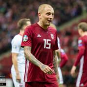 Znamy kadrę Łotwy na mecze z Polską i Izraelem