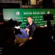 Aleksandar Vuković przed meczem Legii z Pogonią Szczecin